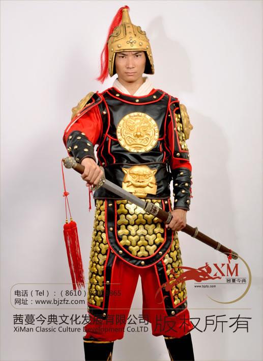 ba199男士古装-北京西蔓今典演出服公司图片